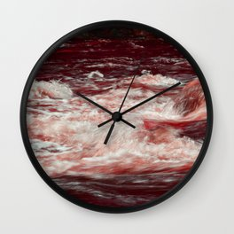 Mad River Red Wall Clock