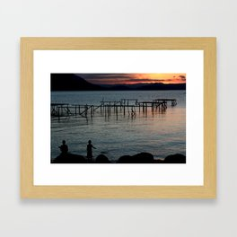 Florianópolis - Santa Catarina  Framed Art Print
