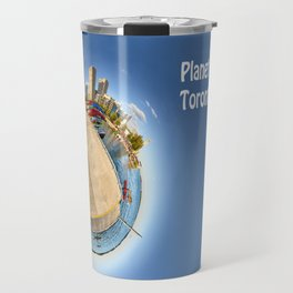 Planet Toronto Wall Paper Travel Mug