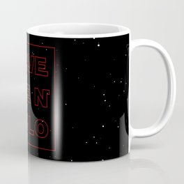 Save Ben Solo Kylo Ren The Dark Side Starwars Reylo Jedi Coffee Mug