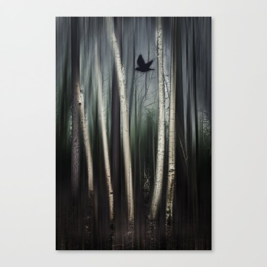 wild moment Canvas Print