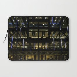 CSUDH Library At Night Laptop Sleeve
