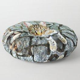 Alley Cat Floor Pillow