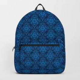 Metatron's Cube Damask Pattern Backpack