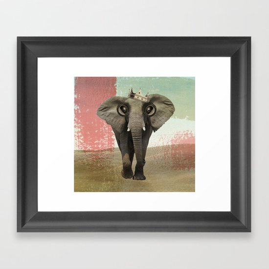 king baba Framed Art Print