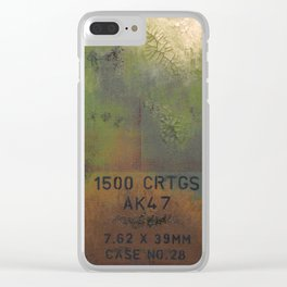 AK47 Clear iPhone Case