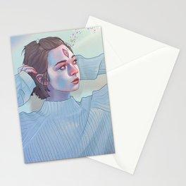 Opened third eye 2 Stationery Cards