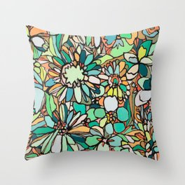 coralnturq Throw Pillow