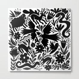 Nursery rhyme garden 001 Metal Print