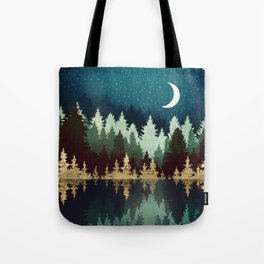 Star Forest Reflection Tote Bag