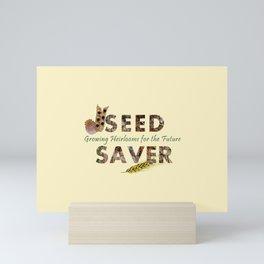 Saving Seeds for the Future Mini Art Print
