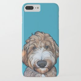 Seamus the Labradoodle iPhone Case