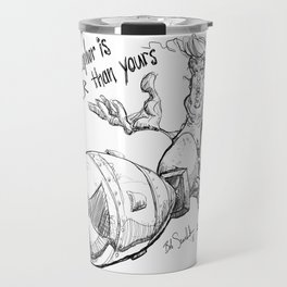 Trump's nuclear metaphor Travel Mug