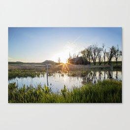 Abandoned: South Dakota 6651 Canvas Print