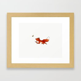 Chasing dreams Framed Art Print
