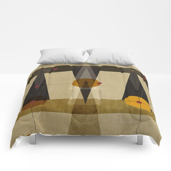 Geometric/Abstract 2 Comforters