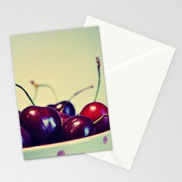 Cherry blues Stationery Cards