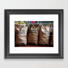 Spuds!  Framed Art Print