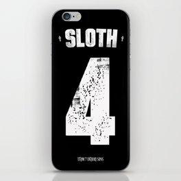 7 Deadly sins - Sloth iPhone Skin