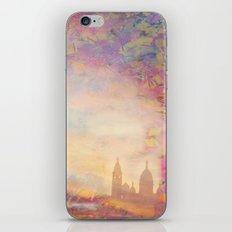 PARIS SACRE COEUR  Gold iPhone & iPod Skin