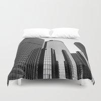 renaissance Duvet Covers featuring Renaissance Center by Starr Cuevas Photography