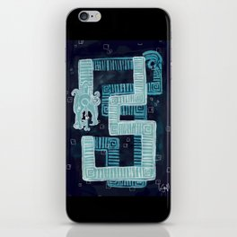 El Angelito snake iPhone Skin