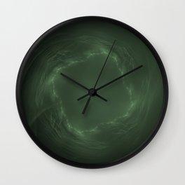 Emerald Eye Wall Clock