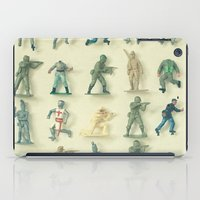army iPad Cases featuring Broken Army by Cassia Beck