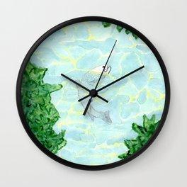 Summer is a Myth Wall Clock
