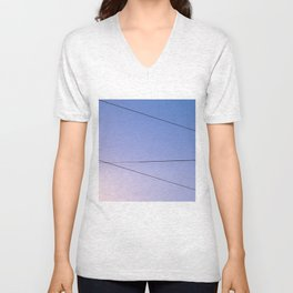 Some Lines Intersect Unisex V-Neck