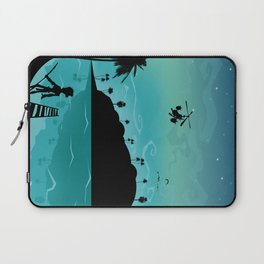 Discovery of the island Laptop Sleeve
