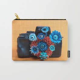 Surveillance Camera | Eyed Flowers Watching | Surrealistic Sculpture by Stephanie Kilgast Carry-All Pouch