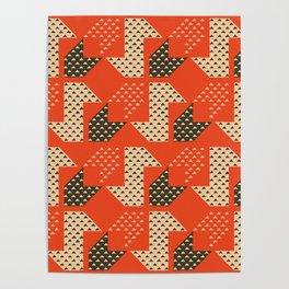 Clover&Nessie Apple/Choco Poster