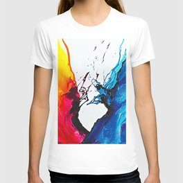 Abstract Art Britto - QB292 Art Print T-shirt