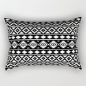 Aztec Essence Ptn III White on Black by nataliepaskell