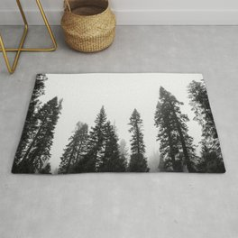 Deep in the Forest of Yosemite Rug