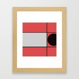 Intruder Circle Framed Art Print