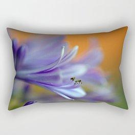 Blue Agapanthus 2786 Rectangular Pillow