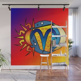 astrology,Aries,March, Wall Mural