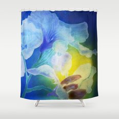 Gently into the Light Shower Curtain