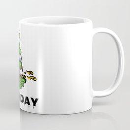 Monday -the day of horror - black Coffee Mug