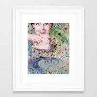goddess Framed Art Prints featuring GODDESS by Julia Lillard Art