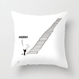 STAIRS / Borderline Bill Throw Pillow