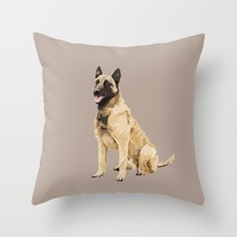 English Sheperd Throw Pillow