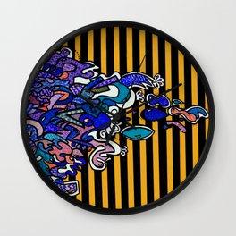 Moondrops 2 Wall Clock