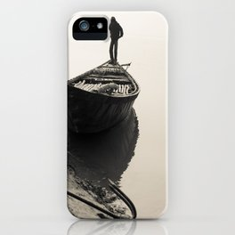 Bengali River Boat iPhone Case