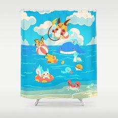 Splash Attack Shower Curtain