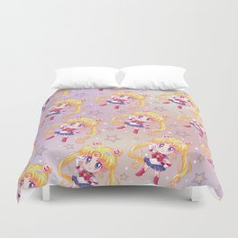 Sailor Moon Crystal Pattern Duvet Cover