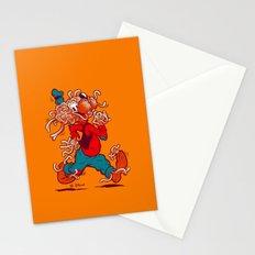 THE FLYING SPAGHOOFY MONSTER Stationery Cards