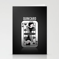tegan and sara Stationery Cards featuring Tegan and Sara Quincard by Defi Allih